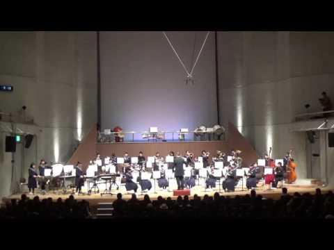 益城中学校(熊本県)吹奏楽部第12回定期演奏会(1)マーチ・スカイブルー・ドリーム