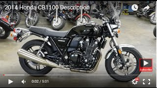 8. 2014 Honda CB1100 Description