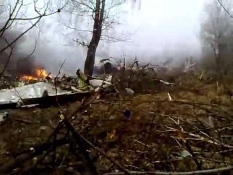 Katastrofa samolotu w Smoleńsku - film amatorski