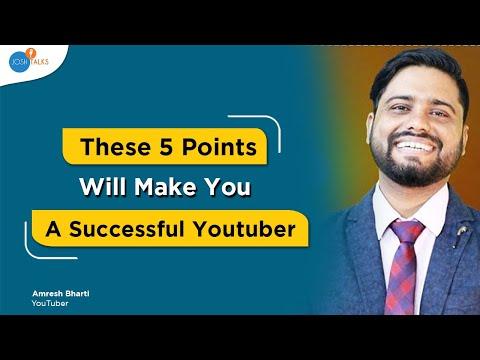 How To Make Money On YouTube By Mahatmaji Technical   Amresh Bharti   Josh Talks