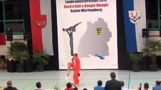 Julia Geishauser & Patrick Pfaller - LM Baden-Württemberg & Hessen 2015