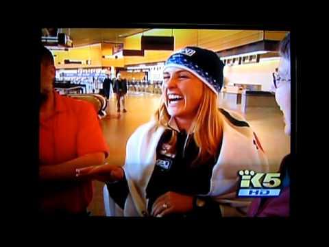 Holly Brooks King 5 News 2010 Olympic Story (видео)