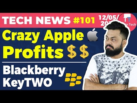 Crazy Apple Profits, Blackberry KeyTWO, Facebook Cryptocurrency, Amazon Summer Sale, Jio, -TTN#101