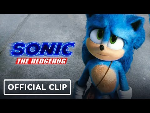 Sonic the Hedgehog - Official Movie Clip (Jim Carrey, James Marsden)