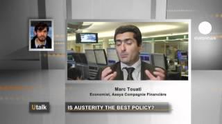 Euronews U talk : ¿La austeridad es la mejor política?