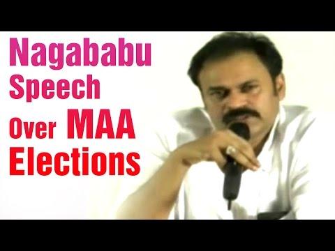 Nagababu Press Meet  Supports Rajendra Prasad Panel Over MAA Elections  HMTV News