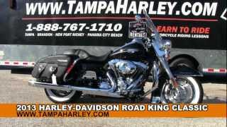 9. 2013 Harley Davidson FLHRC Road King Classic For Sale - Price Specs Review