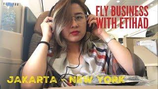 Video Flying with Etihad's Business Class Jakarta - New York (Bahasa Indonesia) MP3, 3GP, MP4, WEBM, AVI, FLV Juli 2018