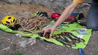 Introduction to sport climbing gear by teamBMC