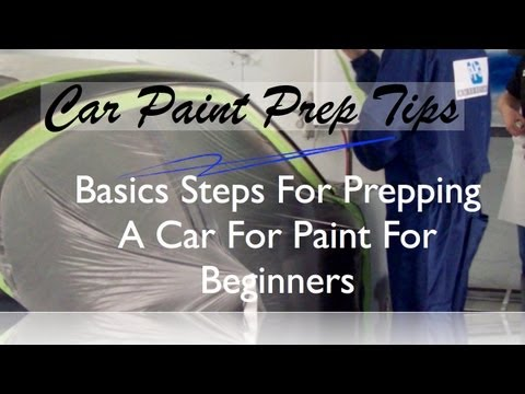 0 Basic Steps To Prep Paint Before Spraying