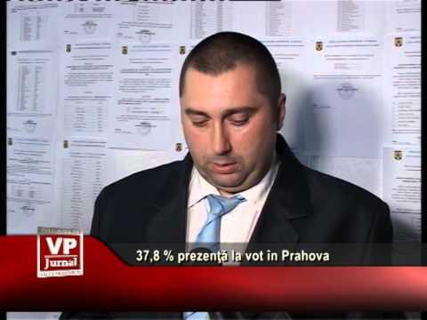 37,8 % prezenţă la vot în Prahova – ora 16.00
