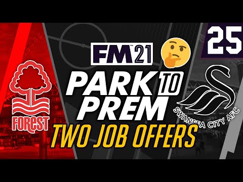 Park To Prem FM21   Lincoln City #25 - TWO JOB OFFERS   Football Manager 2021