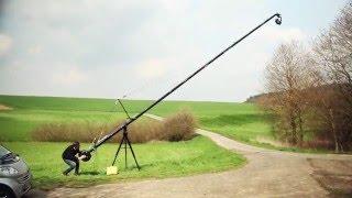 Video PROAIM Wave-5P Video Camera Jib Crane | Pan tilt Head | Tripod Stand | 24ft | 32ft | 38ft MP3, 3GP, MP4, WEBM, AVI, FLV Juli 2018