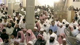 صلاة العشاء 10 2 1435 من الحرم المكى بصوت الشيخ بندر بليلة تلاوة بديعة من سورتى الحج والأحزاب