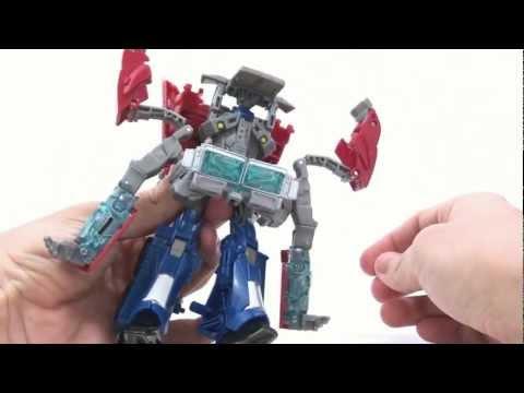 Transformers Prime - Video Review of the Transformers Prime (RiD) Voyager Class: Optimus Prime Follow me: http://twitter.com/optibotimus Fan me: http://www.facebook.com/teambotim...