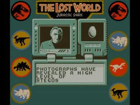 the lost world jurassic park game boy color