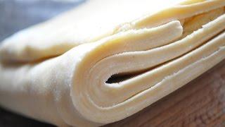 Comment réaliser une pâte feuilletée Express en 8 mn !