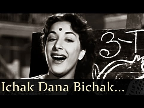 Download Shree 420 - Ichak Dana Bichak Dana Dane Upar - Mukesh - Lata Mangeshkar hd file 3gp hd mp4 download videos