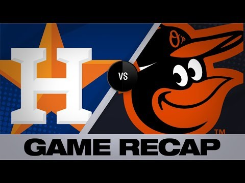 Video: Altuve, Miley lead Astros to 3-2 win | Astros-Orioles Game Highlights 8/9/19