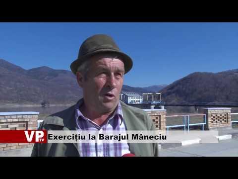 Exercițiu la Barajul Măneciu