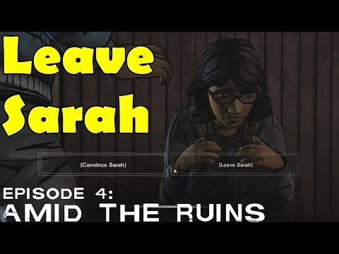 sarah - All Choices and Outcomes - https://www.youtube.com/playlist?list=PLuzuQWCPP75oQcjWIYSvsXH53FlZYeUfV Want to get the Latest Updates follow me on: Follow me on Twitch:http://www.twitch.tv/nukemdukem...
