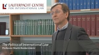 'The Politics of International Law' Martti Koskenniemi