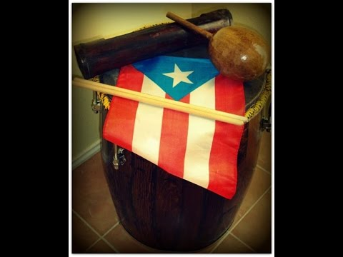 Bomba Drum from Puerto Rico