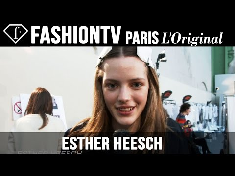 fashiontv - http://www.FashionTV.com/videos MODEL TALK - Esther Heesch talks to FashionTV about her personal style. For franchising opportunities with FashionTV, CONTACT US: http://www.fashiontv.com/contact...