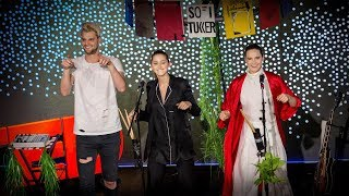 """Electro-pop duo Sofi Tukker dance it out with the TED audience in a performance of their upbeat, rhythmic song """"Awoo,"""" featuring Betta Lemme.The TED Talks channel features the best talks and performances from the TED Conference, where the world's leading thinkers and doers give the talk of their lives in 18 minutes (or less). Look for talks on Technology, Entertainment and Design -- plus science, business, global issues, the arts and more.Follow TED on Twitter: http://www.twitter.com/TEDTalksLike TED on Facebook: https://www.facebook.com/TEDSubscribe to our channel: https://www.youtube.com/TED"""
