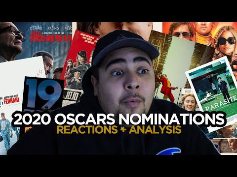 2020 Oscars Nominations Reactions + Who Is Most Likely To Win