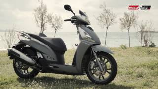 9. Kymco People GTi300 Test ride