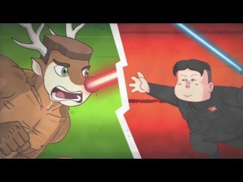 Kim Čong-un vs. Vánoce
