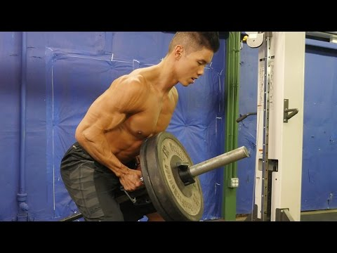 Mike Chang's Bodybuilding Back Workout