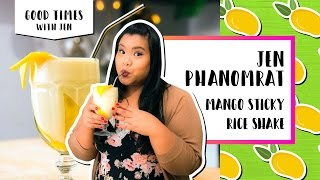 Mango Sticky Rice Shake l Good Times with Jen by Tastemade