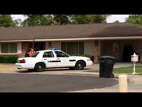 My redneck neighbor gets busted by the cops for trespassing
