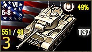 """Мастер класс WOT. T37 - американский легкий танк, светляк 6-го уровня.Карта Прохоровка, бой 7 уровня (+1), можно отжигать. Итоги боя: 1340 чистого опыта выдано за 1175 дамага + 3472 по засвету, 2 фрага, 5 поврежденных, награды - Огонь на поражение, Разведчик, Дозорный, Целеуказатель, Мастер + ЛБЗ-1 ЛТ-13 (""""Ключ к победе"""") с отличием.За что дают класс Мастер в World of Tanks (ворлд оф танкс)? Я не даю советы и рекомендации как играть, как пройти (VOD, вод, guide, гайд, обзор, характеристики, тактика, стратегия). Я просто играю и записываю бой, в котором выдали класс Мастер. Это может оказаться не самый лучший бой на этом танке (а иногда даже ничья или поражение), и я могу оказаться в бою не лучшим игроком. Но если в этом бою танку дали Мастера - значит было за что. Хотя в некоторых случаях я и сам остаюсь в недоумении - за что же дают класс Мастер и почему не дают Мастера в гораздо лучших боях или лучшим игрокам?novosib_murex, tier6, 6уровень 6 левел левела лвл, T37 (Т37), США, американский легкий танк, светляк, 6 level USA american light tank tier 6 Mastery Badge Ace Tanker"""