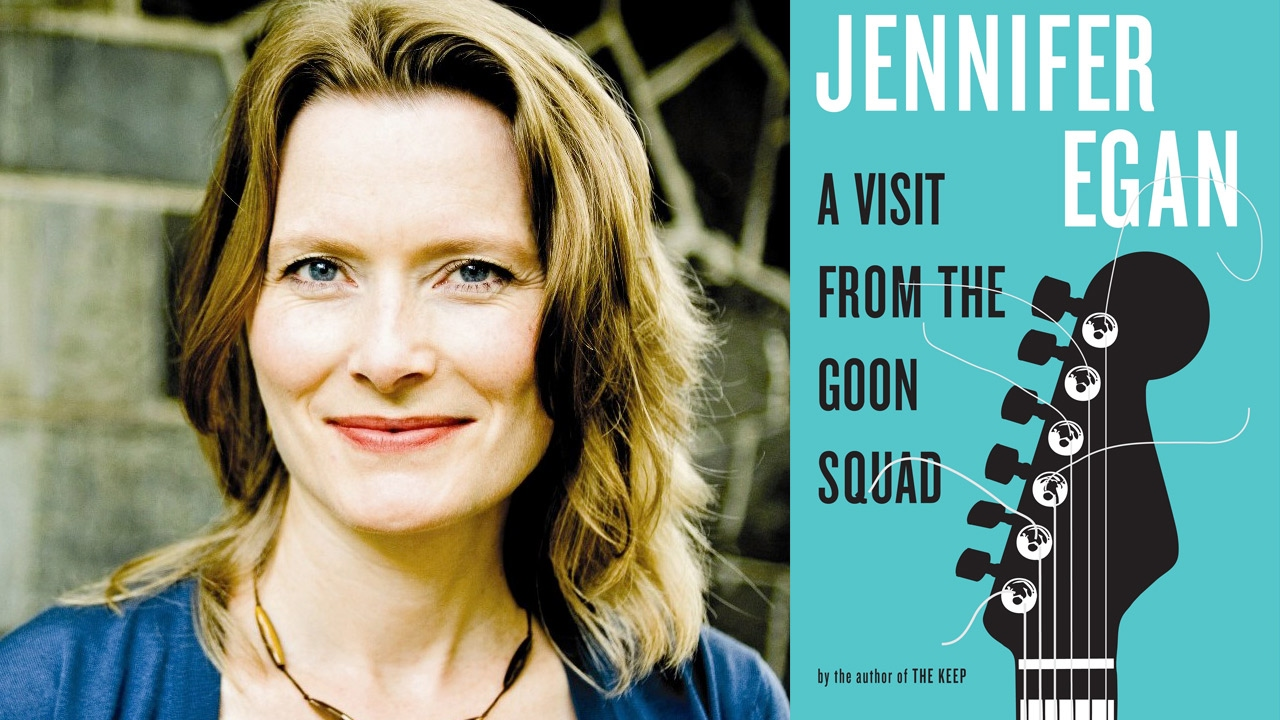 Jennifer Egan at the 2017 AWP Book Fair