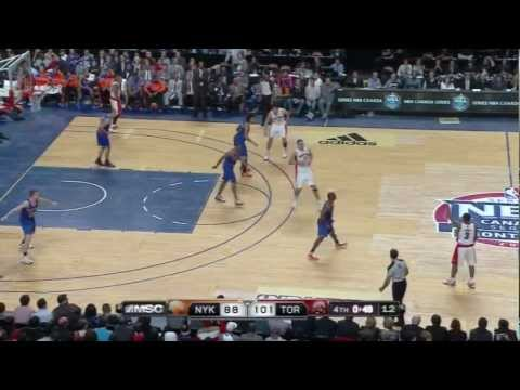 [10.19.12] Kyle Lowry - 17 points vs Knicks (Full Highlights)