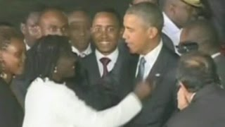 Pres. Obama makes first visit to Kenya as president
