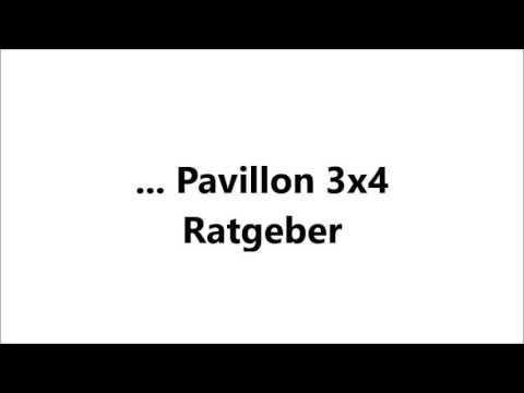 Pavillon 3x4 - Ratgeber, Vergleiche, Tipps - pavillon-kaufen.de - 2017