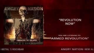 Video Angry Nation  -  Armed Revolution  Visualizer Video