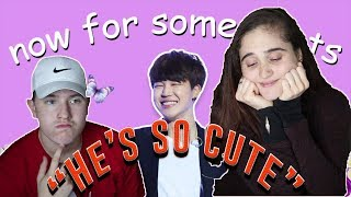 Video JIMIN, SHE'S MINE 😠 | MY GF REACTS TO An Introduction to BTS: Jimin Version MP3, 3GP, MP4, WEBM, AVI, FLV September 2019