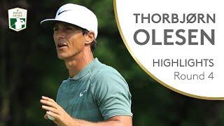 Lo spettacolare 64 di Olesen nell'ultimo giro del 75° Open d'Italia