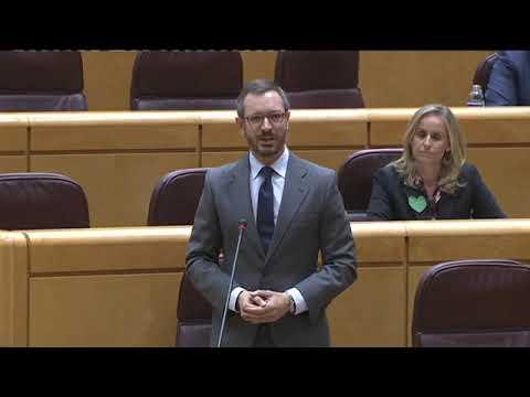 Javier Maroto interviene en la #SesiónDeControl al Gobierno en el Senado.