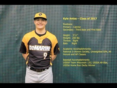 Kyle Antos - Class of 2017 - College Recruitment / Showcase Video