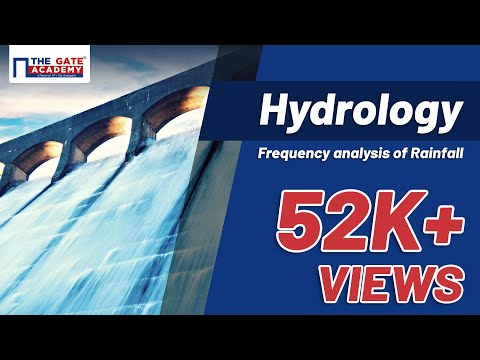 Frequency analysis of Rainfall/Flood data | Hydrology | CE