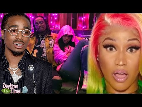 Nicki Minaj gets PUT ON BLAST by Quavo in his new song | Quavo is officially TEAM CARDI B.