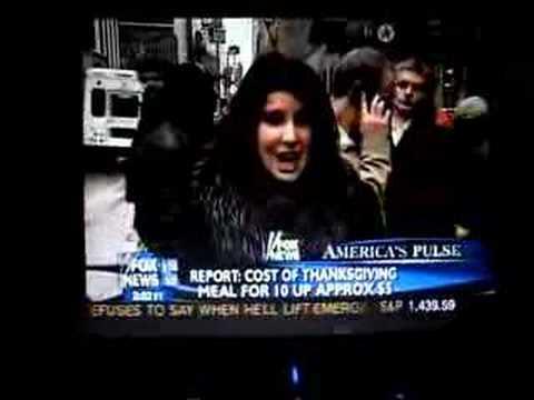 Leigh Dana reporting for Fox News 11.24.2007