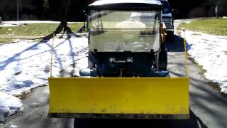 4. Cub Cadet Big Country UTV with Snow Plow