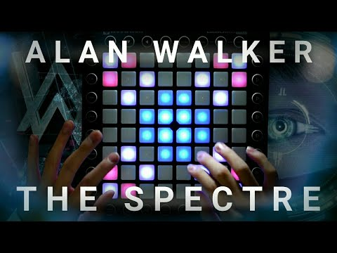 Alan Walker - The Spectre | Launchpad Cover [UniPad Project File] (видео)